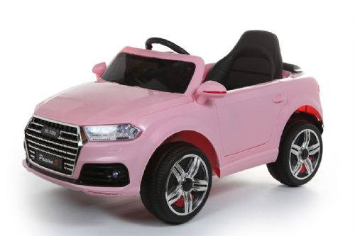 Battery Powered - 12V Pink Q7 Ride On Car